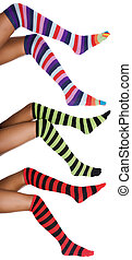 african striped legs - african american legs with striped...