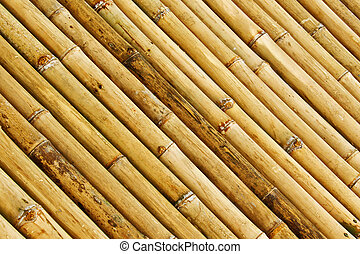 Bamboo Background - Diagonal Bamboo Wall Background and...