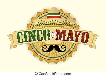Cinco de Mayo Mexico Vector Illustration