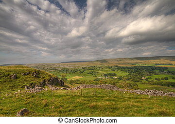 Yorkshire Dales - Yorkshire dales landscape in the summer...