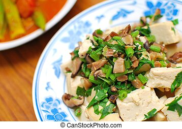 Chinese style vegetarian delicacy