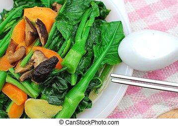 Sumptuous Chinese vegetarian cuisine