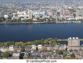 Charles River in Boston