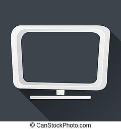 Vector Concept TV Icon