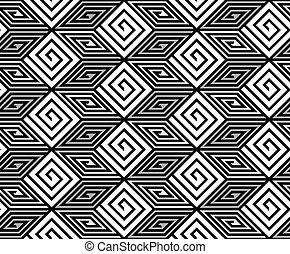 Vector ZigZag Seamless Pattern