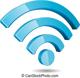 Vector WiFi Wireless Network Symbol
