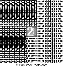 Vector Halftone Seamless Pattern - Halftone Style Vector...