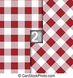 Vector Table Cloth Seamless Pattern