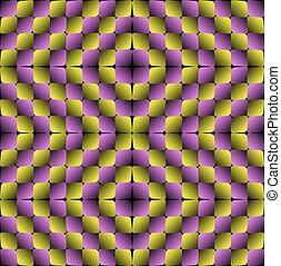 Vector Illusion Seamless Pattern