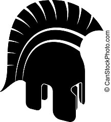 Vector Ancient Spartan Helmet