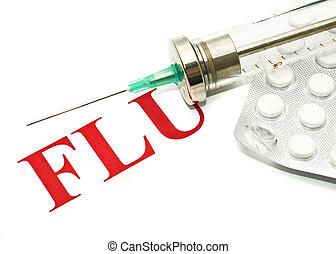 cerdos, gripe, H1N1, -, alarma, pasado de moda, jeringuilla,...