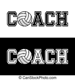 Coach T-shirt Typography Vector