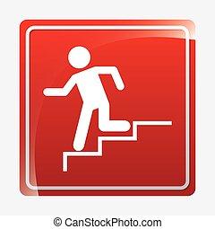 caution signals - security signals design, vector...