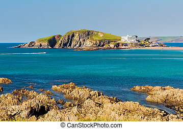 Burgh Island South Devon England - Burgh Island as seen from...
