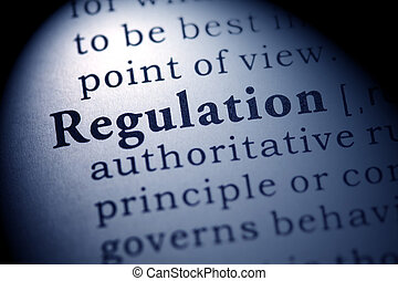 regulation - Fake Dictionary, Dictionary definition of the...