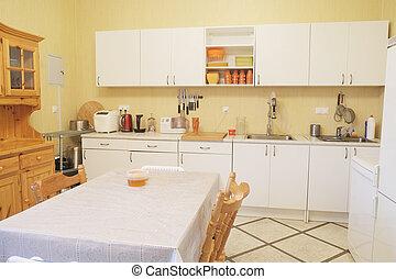 dining room - Interior of a modern dining room