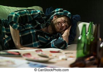 Partido, após, dor de cabeça