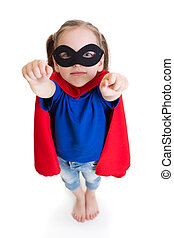 superhero girl child dreams about flying - super hero girl...