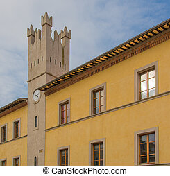 historical building - Historical building in the square in...