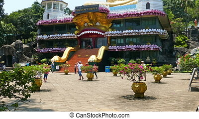 Dambula golden temple in Sri lanka - great buddhistic...
