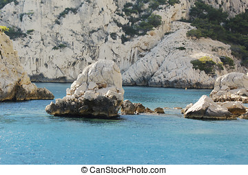 Calanque Of Cassis - Calanques of Port Pin in Cassis in...