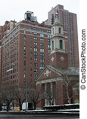 Church in Park av - The Upper East Side if one of the most...