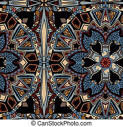 Ethnic tribal fashion abstract indian pattern Eastern style...