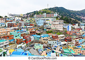 Gamcheon Culture Village in South Korea.