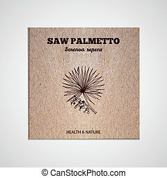 Herbs and Spices Collection - Saw palmetto