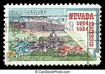 Virginia City of Nevada - UNITED STATES OF AMERICA - CIRCA...