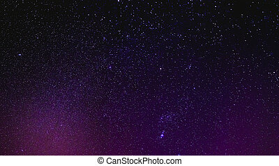 Night Sky Stars Background - Natural Real Night Sky Stars...