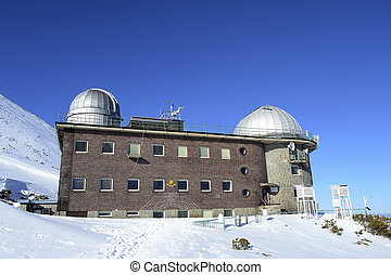 Observatory in High Tatra Mountains