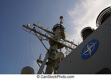 NATO - Part of NATO ship