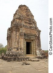 East Mebon temple ruins, Angkor, Siem Reap, Cambodia East...