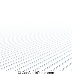 Lines perspective background Vector illustration