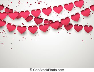 Love party celebration background. - Celebrate banner. Love...