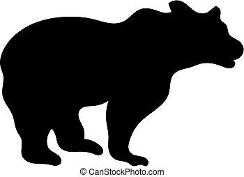 Beer silhouette - Big beer silhouette