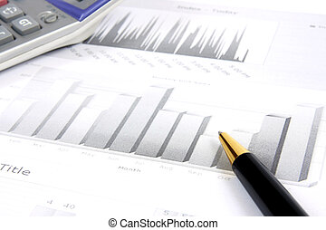 Business reports monitoring