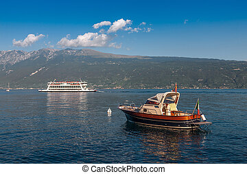 Lake Garda is the largest lake in Italy. It is located in...