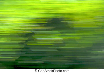 in nature - green nature background fast line
