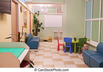 pediatric polyclinic - Corridor in a pediatric polyclinic