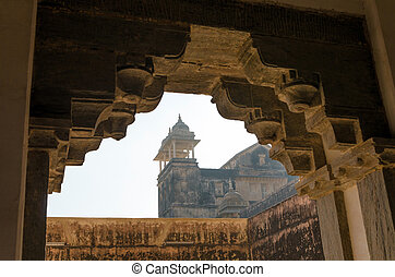 Amber Fort in Jaipur, Rajasthan, India