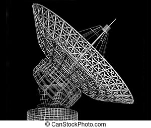 Satellite dish  - Satellite dish