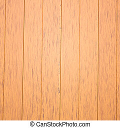 Faux wood - In front of a panel of Faux wood