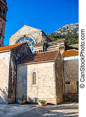 St. Nikola church in Perast city, Montenegro