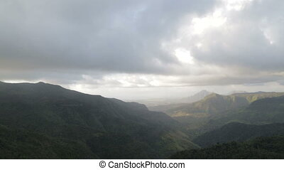 mauritian mountain scenery - Beautiful scenery of mauritian...