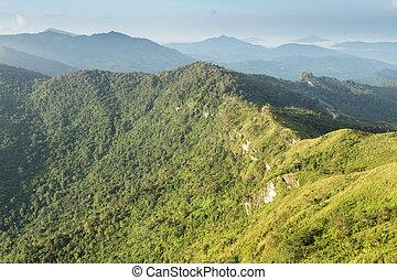 Phu Chi Fa, Thailand - Scenic Landscape at Phu Chi Fa, North...