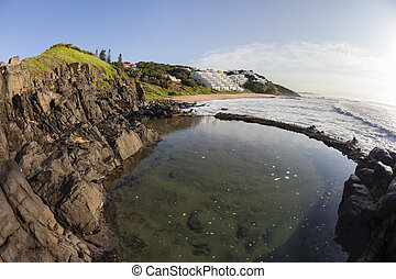 Rocky Tidal Pool Ocean Beach - Rocky cove tidal pool for...