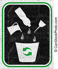 Oil recycle - Creative design of Oil recycle