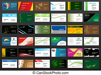 Business card - Various Business Card